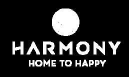 White harmony logo.